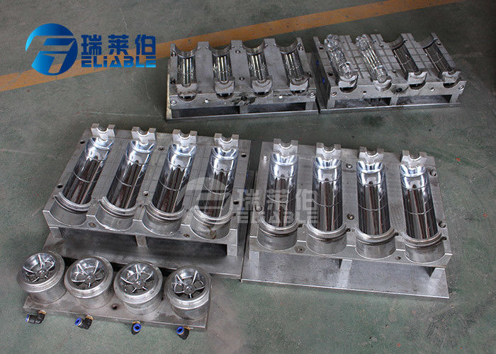 Stainless Steel Plastic Blow Moulding 500 Ml Bottle Mold Easy Operation