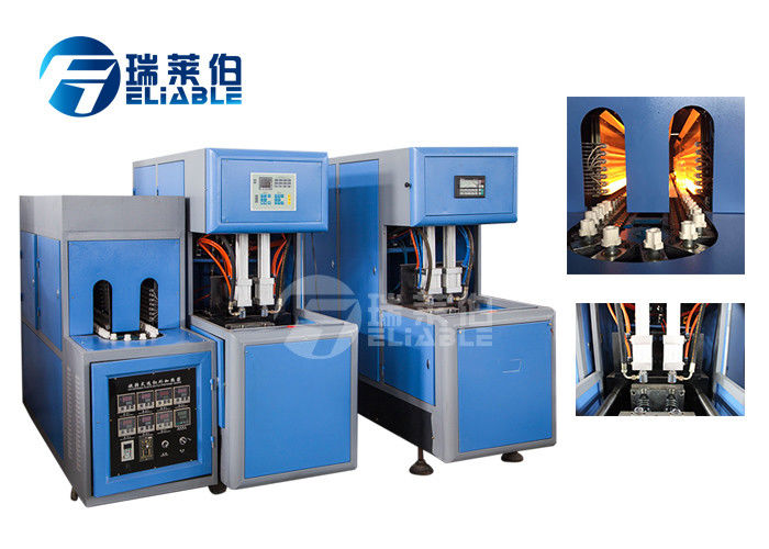 17 Kw Plastic Bottle Blow Moulding Machine 10000 Kcal / Hr Consuming Easy Operation