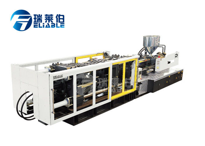 Food Stage 304 Plastic Injection Moulding Machine LCD Computer Control